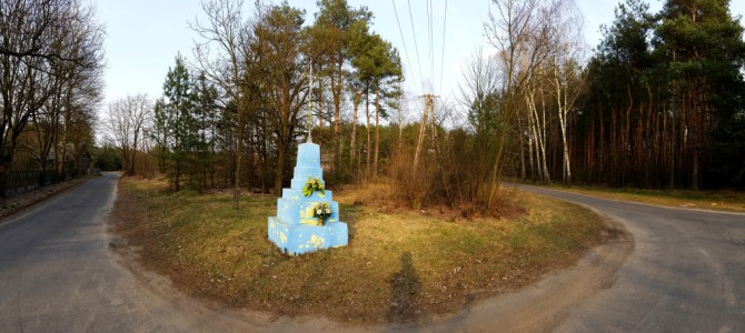 Kapliczki i krzyże Zapilicza 32 km