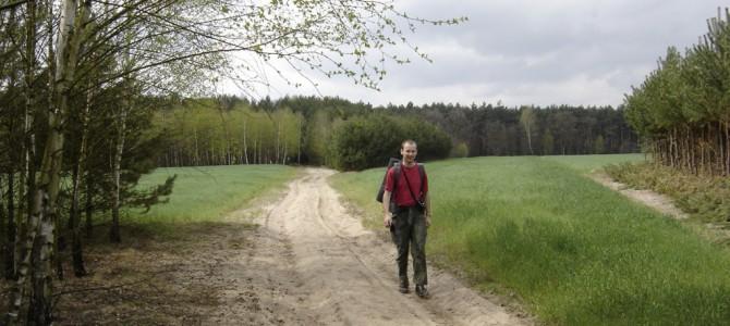 Bieliny – Odrzywół – Potworów 34 km   18-19.IV.2009